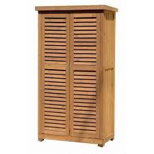 armadi in legno per esterni mobile mobiletto da giardino in legno 3 ripiani e 2 ante per esterno