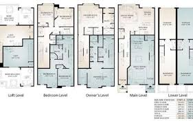 town house floor plans stylish design luxury townhouse floor plans 6 232 4 plex with