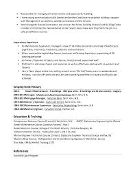Maintenance Foreman Resume Park Ranger Resume Park Ranger Resume Sample