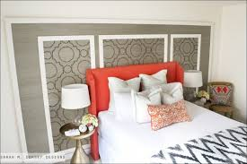 Headboard Nightstand Attached Bedroom Fabulous Valhalla Designer Series King Headboard With