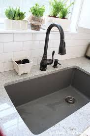 blanco metallic gray sink ikea kitchen renovation cost breakdown blanco sinks sinks and