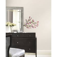 room mates deco piece blossom branches wall decal reviews deco piece blossom branches wall decal