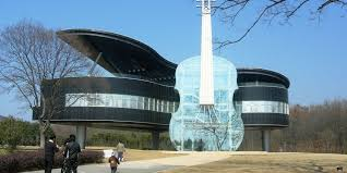 grand piano and violin shaped house in china is the ultimate place