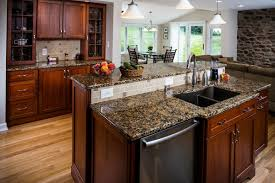 Kitchen Countertops Types How To Choose A Granite Countertop U2013 Types Colors Edges And Finishes