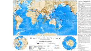 World Plate Boundaries Map by