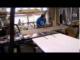 craftsman sliding table saw saw stop sliding table youtube