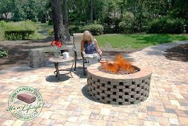 How To Make A Firepit Out Of Bricks Simple Brick Pit Jackiewalker Me