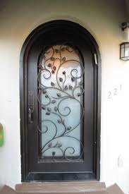 front doors with glass fleshroxon decoration