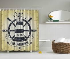 Lighthouse Curtains Bathroom by Old Lighthouse Shower Curtain