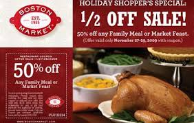 all you need boston market coupons