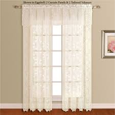 Hanging Lace Curtains New Rochelle Lace Window Treatment
