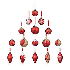 vintage christmas ornaments sets amazon com