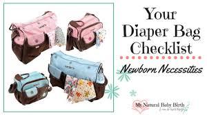 baby necessities your bag checklist newborn necessities
