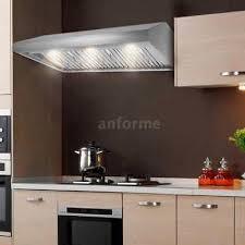 stainless steel under cabinet range hood 30 36 48 variable speed 900 cfm under cabinet range hood