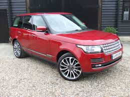 land rover autobiography red interior land rover range rover autobiography 5 0 v8 supercharged oliver