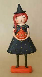halloween figurines lori mitchell