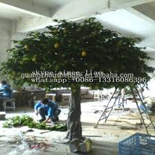 q020301 large outdoor artificial trees ornamental fruit trees