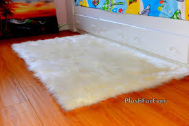 Fur Area Rug 8 X 10 Sheepskin Shag Fur Area Rug Luxury Shaggy