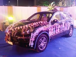 indian wedding car flower