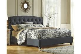 Quilted Bed Frame Kasidon Tufted Bed Furniture Homestore