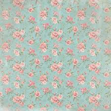 country floral pattern 12 scrapbook paper paper house