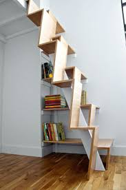 interior unique and creative stair design that feature space
