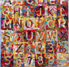 Jasper Johns Map Order And Disorder By Jasper Johns