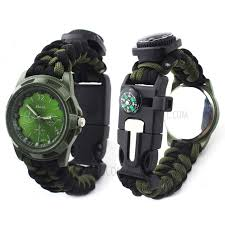 survival paracord bracelet kit images Ctsmart multi function outdoor survival bracelet emergency jpg