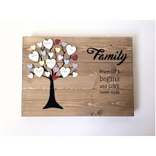 family gift ideas family tree gift personalised family