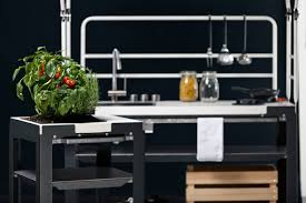 grow griddle and grill with satellite a modular outdoor kitchen