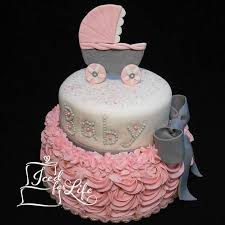 baby shower cakes for a girl girl carriage baby shower cake baby shower cakes