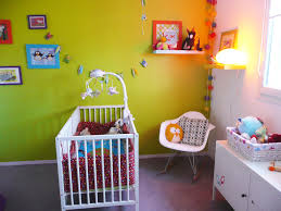 chambre garcon vert photo déco chambre bébé vert anis