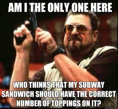 Subway Meme - make a subway sandwich in 9 easy steps crave bits