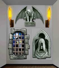creepy dungeon halloween gore decor