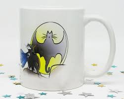 Awesome Mugs by Batcat Coffee Mug Funny Coffee Mug Funny Cat Mug Cat