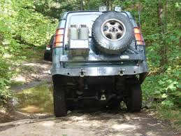 homemade jeep rear bumper dii rear bumper and swing away spare tire carrier expedition