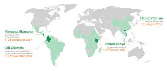 Colombia On World Map by Ciat50 Ciat