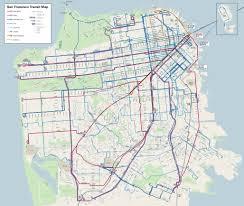 San Francisco Bike Map Urban Cartography Spur
