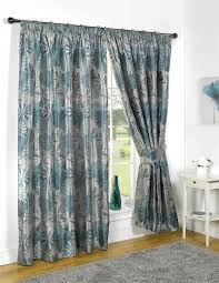Pencil Pleat Curtain Tape Lined Curtains Tape Top Kayleigh Jacquard Curtain Pairs Ebay