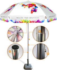Custom Patio Umbrellas by Custom Printed Commercial Beach Umbrellas U0026 Patio Umbrellas