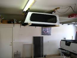 How To Build Garage Storage Lift by Camper Shell Lift System Fiberglass Rv