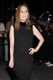 julianne moore at the tom ford spring 2017 fashion show tom