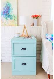 Teal File Cabinet Painted Filing Cabinet Makeover You Ve Hardware And Stylish