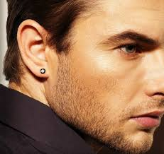 mens with earrings mens earrings guide types history and how to wear earrings as a