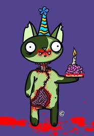 Zombie Birthday Meme - raynieboo plague fest