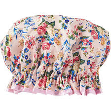 pink floral satin shower cap ulta