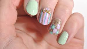 cute and easy spring nails nail polish galore youtube