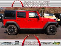 jeep sahara red 2013 jeep wrangler unlimited sahara 4x4 in rock lobster red