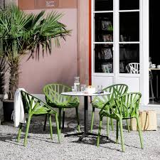 round bistro table outdoor belleville round bistro table outdoor vitra palette parlor