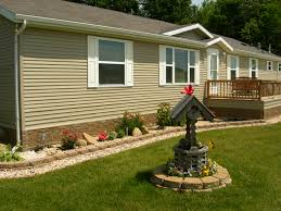 Mobile Home Exterior Makeover by Mobile Homes With Brick Skirting Google Search Mobile Home